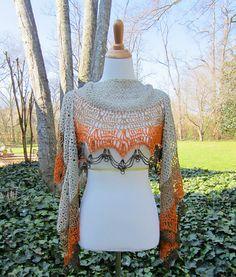 Ravelry: Sandra's Wrap pattern by Julie Blagojevich