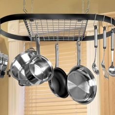 I like the old American style pot hangers, I haven't seen any in Australian homes but id like one in my next home!