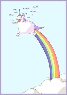 Happy unicorn by kangel.deviantart.com