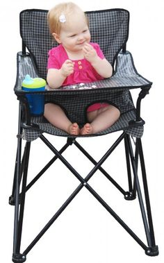 Ciao! Baby Portable High Chair - so cool for traveling with baby #falltravel #fallessentials