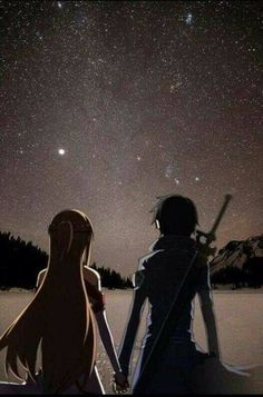 Just gazing at the stars like we are within ❤