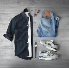 Capsule wardrobe approved outfit grid for men 29 - Fashionetter Mode Outfits, Casual Outfits, Fashion Outfits, Summer Outfits, Fashion Advice, Fashion Clothes, Fashion Shoes, Fashion Websites, Casual Dresses