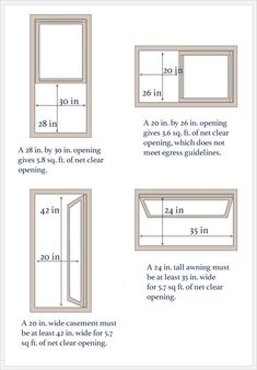 Standard window sizes standard sizes of windows costs for Basement building cost calculator