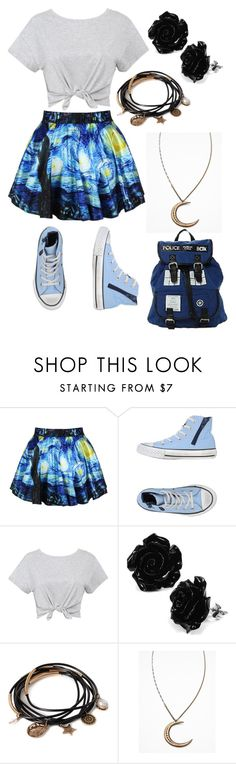 """""""Untitled #9"""" by penguin-bag ❤ liked on Polyvore featuring Converse, Forever 21 and Free People"""