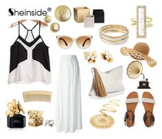 """""""Sheinside by"""" by katarina-blagojevic ❤ liked on Polyvore featuring Philipp Plein, Aéropostale, Tom Ford, Jennifer Lopez, Kate Spade, House of Harlow 1960, YooLa, Marc Jacobs, AERIN and H&M"""