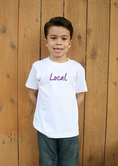 Local Community Support Kid's Tee