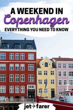 Copenhagen, Denmark is one of Europe's most charming cities. Check out this guide on how to spend a weekend in Copenhagen! | Copenhagen travel guide | things to do in Copenhagen | where to stay in Copenhagen | #Copenhagen | Copenhagen food | Denmark travel | travel in Europe | copenhagen tips | europe travel destinations