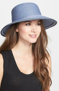"Eric Javits 'Squishee® IV' Wide Brim Hat available at #Nordstrom - very cute, very ""packable."""