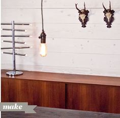 Brighter Dining Wall | Wood