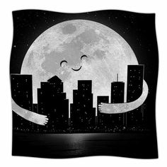 East Urban Home Goodnight by Digital Carbine Fleece Blanket Size: 80'' L x 60'' W