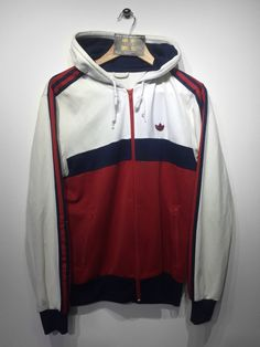 Adidas Hoodie Track Jacket Size Medium £32 Website➡ www.retroreflex.uk
