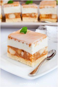 Polish Cake Recipe, Polish Recipes, Sweet Recipes, Cake Recipes, Dessert Recipes, Delicious Desserts, Yummy Food, Low Carb Side Dishes, Bread Cake