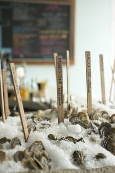 Best places for oysters in CA: Hog Island Oyster Farm, near Point Reyes in Marshall, CA and Swan Oyster Depot in San Francisco - but you'd better get to Swan early. They only have 17 seats.