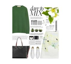 """""""Untitled #2292"""" by amimcqueen ❤ liked on Polyvore featuring French Connection, Marni, Converse, NARS Cosmetics, Rodial, Herbivore, Ex Voto Paris, Forever 21 and Valentino"""