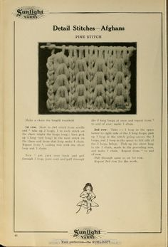 Crochet: Pine Stitch.   this is the link to see... http://babel.hathitrust.org/cgi/pt?id=loc.ark:/13960/t8hd8nv0w;view=1up;seq=35