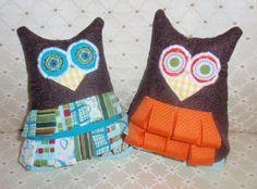 Diary of a Crafty Lady: Taggy Owl - Stuffed Animal