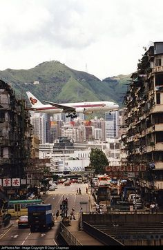 Kai Tak approach in Hong Kong, I remember it so well!