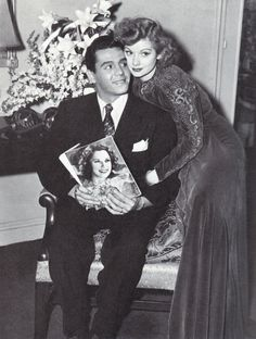 """welovelucille: """" Lucille Ball and Desi Arnaz in 1940 """" Golden Age Of Hollywood, Vintage Hollywood, Hollywood Stars, Classic Hollywood, Hollywood Glamour, I Love Lucy Show, My Love, Marilyn Monroe, Lucille Ball Desi Arnaz"""