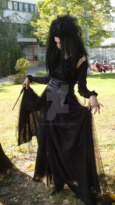 bellatrix lestrange costume - Google Search