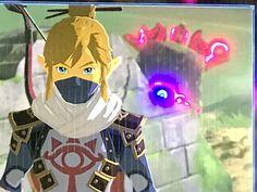 I would cry if I saw this bc guardians scare me even the walking ones The Legend Of Zelda, Legend Of Zelda Memes, Legend Of Zelda Breath, Image Zelda, Botw Zelda, Pokemon, Twilight Princess, Princess Power, Princess Zelda
