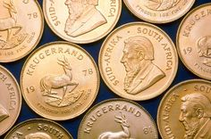 Krugerrands are South African gold coins that were minted in 1967 and remain popular among gold investors today. Bullion Coins, Gold Bullion, Gold Krugerrand, Safe Investments, Gold Reserve, Coin Market, Foreign Coins, Gold Money, Coins For Sale