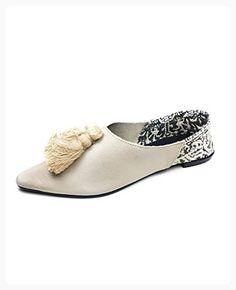 Zara Women Flat leather shoes with tassels 3824/201 (41 EU   10 US   8 UK) (*Partner Link)