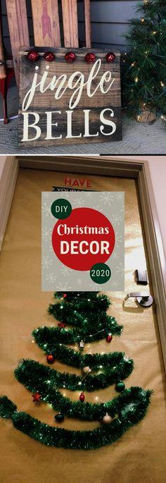 Best DIY Christmas Decoratıon 2020 #christmasdiy Christmas Projects, Christmas Wreaths, Christmas Crafts, Christmas Decorations, Christmas Tree, Holiday Decor, Jingle Bells, Amazing, Teal Christmas Tree