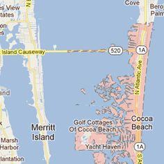 Cocoa Beach, Florida Florida Camping, Florida Vacation, Florida Travel, Florida 2017, Places In Florida, Disney World Florida, Florida Beaches, Cocoa Beach Restaurants, Orlando Beach