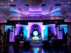 Elaborate fusion wedding decor - Dreampartydecor