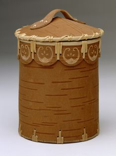 early american art with baskets