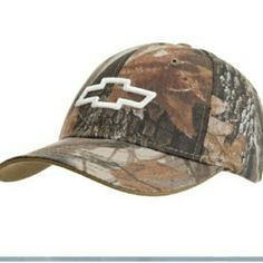 Camo chevy hat old glory