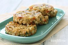 Baked Corn and Crab Cakes - perfect for your end of summer corn.