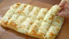 Fantastická a rychle připravená dobrota! Sýrové tyčinky s česnekem