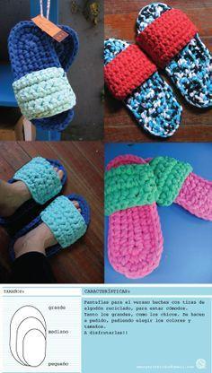 yoga shoe socks to wear into class Crochet Fabric, Fabric Yarn, Crochet Slippers, Knit Or Crochet, Crochet Patterns, Crochet Hats, Knitting Projects, Crochet Projects, Cotton Cord