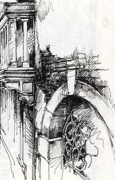 Venetian Canal » Ian Murphy Sketchbooks
