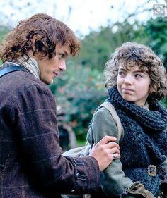 Love this photo of Jamie & Fergus