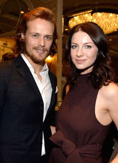 Sam Heughan & Caitriona Balfe at Bafta Tea Party 2015 | OUTLANDER Italy ~ Il Primo Vero Sito Italiano
