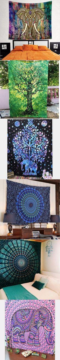 Indian Mandala Tapestry Hippie Home Decorative Wall Hanging Tapestries Boho Beach Towel Yoga Mat Bedspread Table Cloth - dezdemon-home-decor-ideas. Indian Mandala, Hippie Home Decor, Mandala Tapestry, Tapestry Wall Hanging, Bedspread, Tapestries, Beach Towel, Yoga, Table