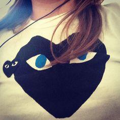 sophie_carre's photo on Instagram heart, comme des garçons, t-shirt heart
