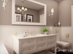 GOTOWY PROJEKT ŁAZIENKI, Pure Grey, ŁAZIENKI wnetrza24.com - GOTOWE PROJEKTY WNETRZ Art Deco Bathroom, Bathroom Interior Design, Bathroom Inspiration, Sweet Home, House Design, Pure Products, Dahl, Home Decor, Old Bathrooms