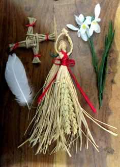 Handmade Brigid Corn Doll Imbolc Altar set . by PositivelyPagan