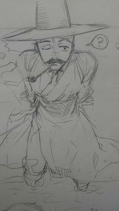 Sketch Korean명 탐정