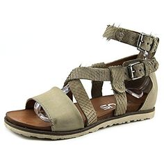 MJUS Womens Taurus Fisherman Sandal IceSasso 39 EU85 M US *** Click image to review more details.