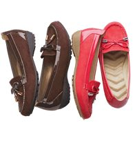 Cushion Walk® Patent-Trimmed Loafer