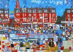 10x10 Drawing the City London Artwork - 2013 - usseglio prinsi eleonora