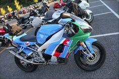 ROAD RIDER Street motorcycle in Japan - YAMAHA YZF-R1初期型 Fiat500 スペシャル カラーリング仕様