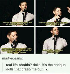 Jensen and dolls