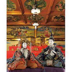 #Japan hinamatsuri Hina Dolls, Heian Period, Tanabata, Girl Day, Museum, Antiques, Japanese Doll, Anime, Painting