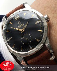Wonderful Omega black dial Automatik Vintage Calatrava #omega #omegawatch #omegageneve #omegagenève #omegagenevewatch #vintagewatch #oldwatch   #swiss #swissmade #automatic #automaticwatch                 #omegadeepblack #deepblack #blackdial