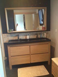 meuble sous vasque harmon 140 cm plan vasque en pierre harmon 140 cm sdb pinterest ps. Black Bedroom Furniture Sets. Home Design Ideas